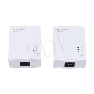 TP-LINK TL-PA2010KIT Powerline 200Mb/s 2szt. 1x100Mb/s