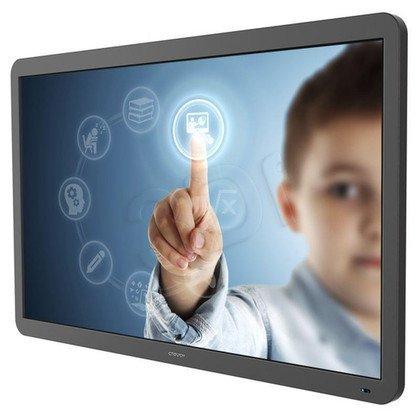 "CTOUCH MONITOR INTERAKTYWNY LED LASER 84"" TECHNOLOGIA ACTIVE IRO; 4K; 10-PUNKTOWY MULTITOUCH; HDMI X4"