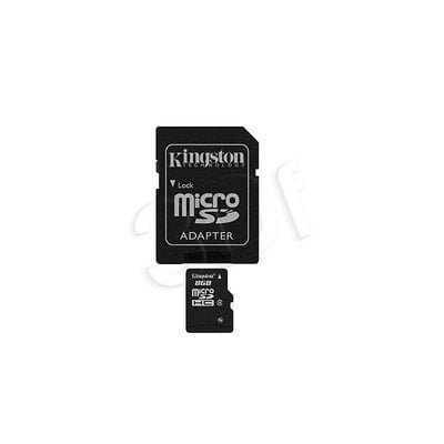 KINGSTON MICRO SD SDC4/8GB+ ADAPTER