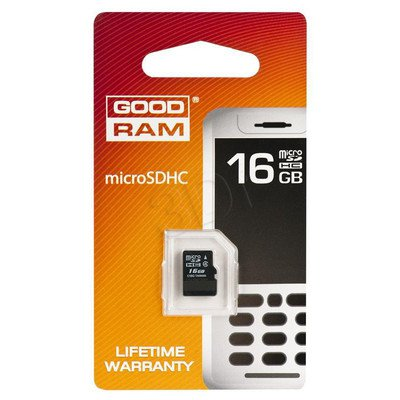 SECURE DIGITAL MICRO 16GB GOODRAM bez adaptera
