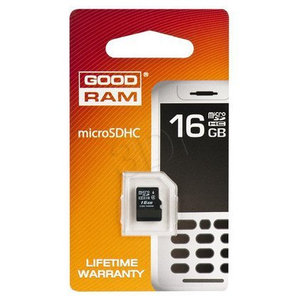 SECURE DIGITAL MICRO 16GB GOODRAM bez adaptera