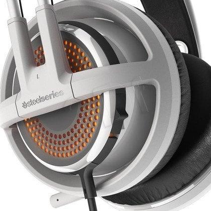 Słuchawki nauszne z mikrofonem Steelseries Siberia 350 (biały)