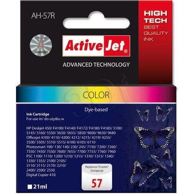 ActiveJet AH-57R (AH-657) tusz kolorowy do drukarki HP (zamiennik HP 57 C6657A)