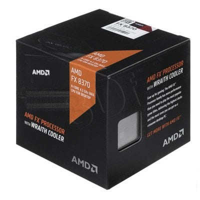 Procesor AMD FX 8370 4000MHz AM3+ Box + WRAITH