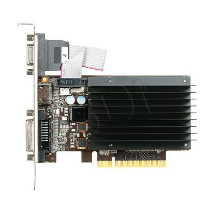 GAINWARD GeForce GT 730 2048MB DDR3/64bit DVI/HDMI PCI-E (902/1600) (SilentFX - chłodzenie pasywne)