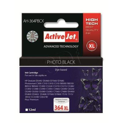 ActiveJet AH-364PBCX (AH-C22) tusz czarny fotograficzny do drukarki HP (zamiennik HP 364XL CB322EE)