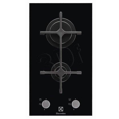 Płyta ELECTROLUX EGC 3322 NOK (gazowa/ 2 pola gazowe/ czarna)