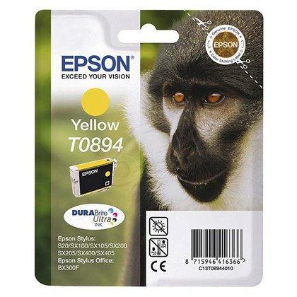 EPSON Tusz Żółty T0894=C13T08944011, 3.5 ml