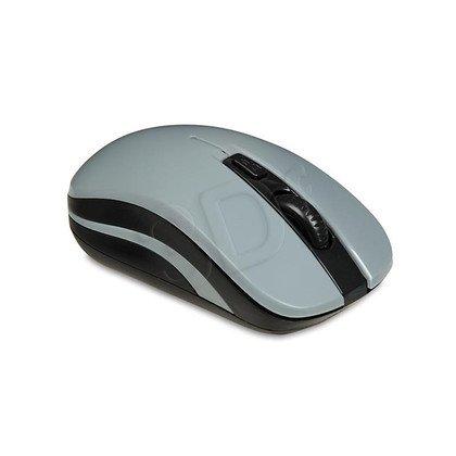 I-BOX Mysz bezprzewodowa optyczna Loriini Black 1600dpi szaro-czarna