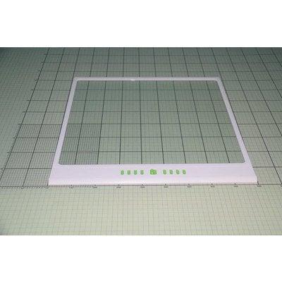 Półka szklana z ramką biała (1038189)