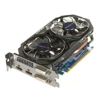 GIGABYTE GeForce GTX 750Ti 2048MB DDR5/128bit DVI/HDMI PCI-E (1111/5400) (wer. OC - OverClock)