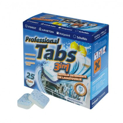 Tabletki do zmywarek 3w1 - 25szt (C00090485)