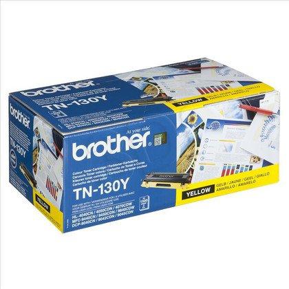 BROTHER Toner Żółty TN130Y=TN-130Y, 1500 str.
