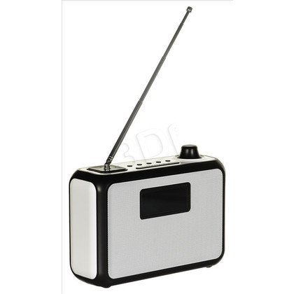 Radioodtwarzacz Blaupunkt PP15DAB Biało-czarny