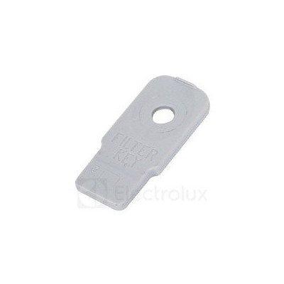 Klucz filtra pompy odpływowej do pralki Electrolux (1325586012)