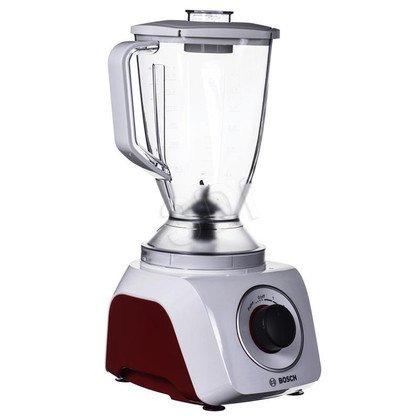 Blender stojący Bosch MMB21P0R (500W/biało-czerwony)