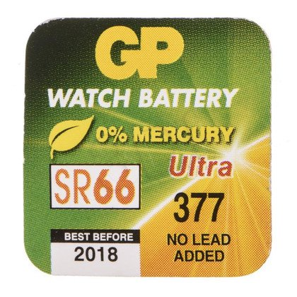 GP Bateria do zegarków SR66 blister 1szt.