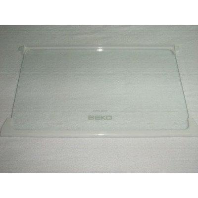 Półka szklana z ramkami 49.5x29.5 cm (4564210100)