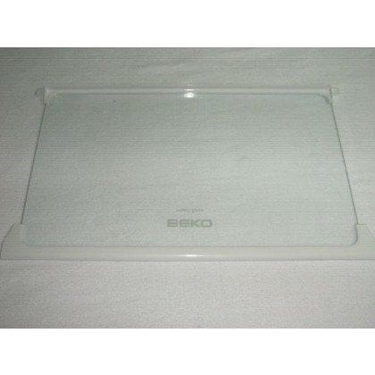 CHA 33100 X BEKO Półka szklana z ramkami 49.5x29.5 cm (4564210100)