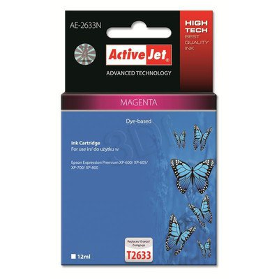 ActiveJet AE-2633N tusz magenta do drukarki Epson (zamiennik Epson T2633) Supreme