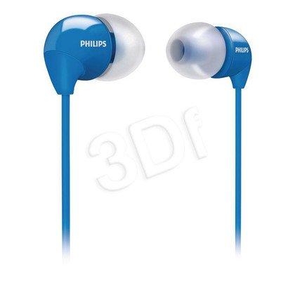 Słuchawki PHILIPS SHE3590BL/10 /Niebieskie