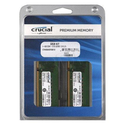 Crucial DDR4 UDIMM 32GB 2133MT/s (4x8GB) CT4K8G4DFD8213