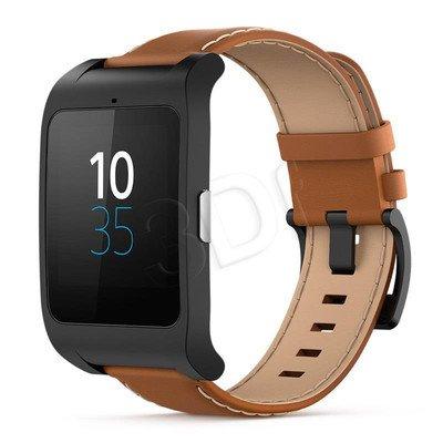 Smartwatch SONY MOBILE 3 SWR50 1294-2260 czarno-brązowy