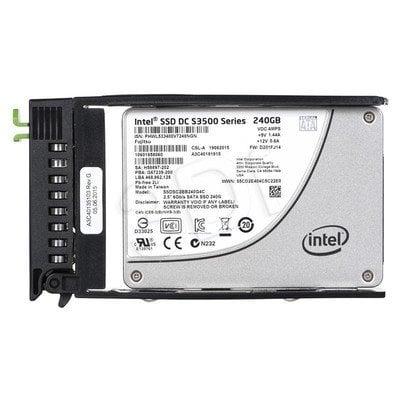 FUJITSU DYSK SSD SATA 6G 240GB ReadIntensive 2.5' H-P for TX1320 M1 TX1320 M2 TX1330 M1 TX150 S8 TX2540 M1 TX300 S8 RX200 S8 RX2520M1 RX300S8