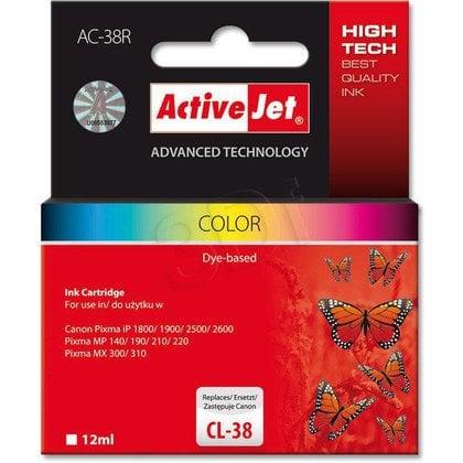 ActiveJet AC-38R tusz kolorowy do drukarki Canon (zamiennik Canon CL-38)