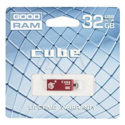 Goodram Flashdrive CUBE 32GB USB 2.0 Czerwony