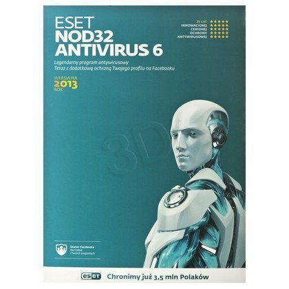 ESET NOD32 ANTIVIRUS UPGRADE - 1 STAN/36M