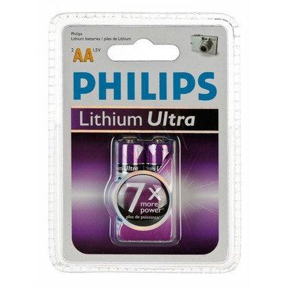 Bateria PHILIPS FR6LB2A/10 LITHIUM ULTRA 2szt. AA