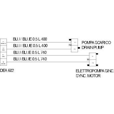 Wiązka kabli DEA602 pompy (C00274122)