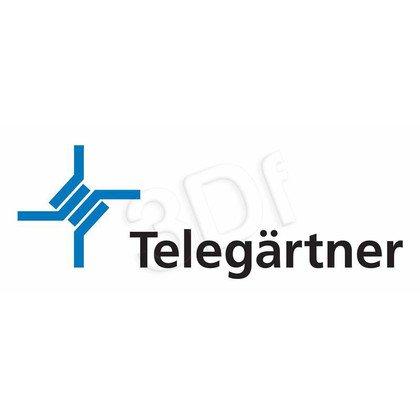 TELEGARTNER Gniazdo keystone RJ45 Cat. 6A UTP białe