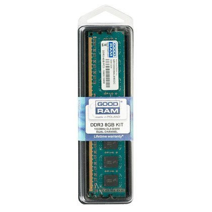 GOODRAM DDR3 8192MB PC1333 DUAL 2 x 4096 CL9