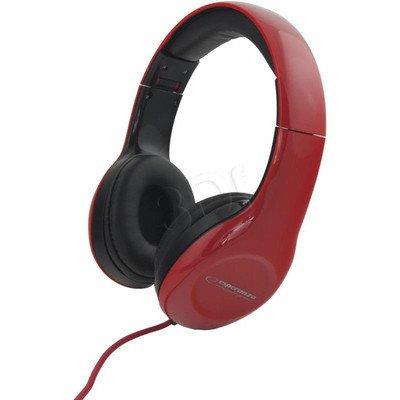 Słuchawki nauszne Esperanza SOUL (Czerwony)