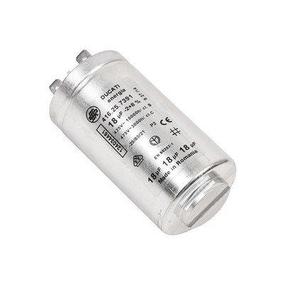 Elektronika do suszarek bębnowyc Kondensator 18 uF (1240344612)