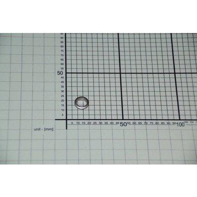 Element maskujący przycisk zegara aluminiowy -inox (8018327)