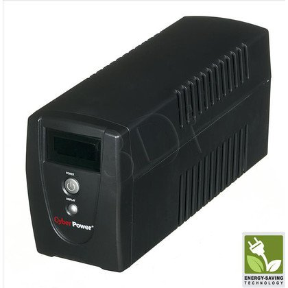 UPS CYBERPOWER Value1000ELCD-FR (VI, Tower, 1000VA, 550W, 3xFR, FL1min/HL6,5min)