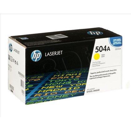 HP Toner Żółty HP504A=CE252A, 7000 str.