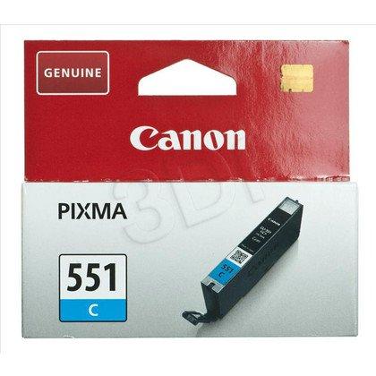 CANON Tusz Niebieski CLI-551C=CLI551C=6509B001, 300 str., 7 ml
