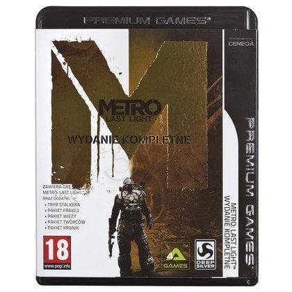 Gra PC NPG Metro Last Light Complete Edition