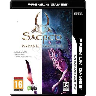 Gra PC NPG Sacred Wydanie Kompletne: Sacred Złota Edycja + Sacred 2 Złota Edycja