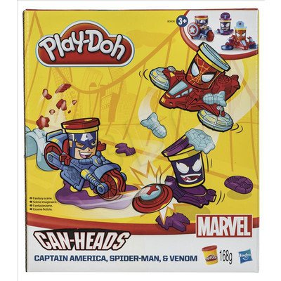 PLD PLAY-DOH POJAZDY SUPERBOHATERÓW HASBRO B0606