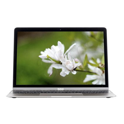 """Apple MacBook 12 5Y71 8GB 12"""" WQHD 512GB HD5300 OS X Yosemite Srebrny"""