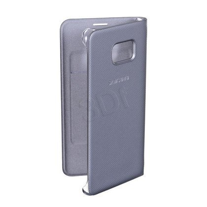 "Samsung Etui do telefonu Flip Wallet 5,7"" Galaxy S6 edge+ srebrne"