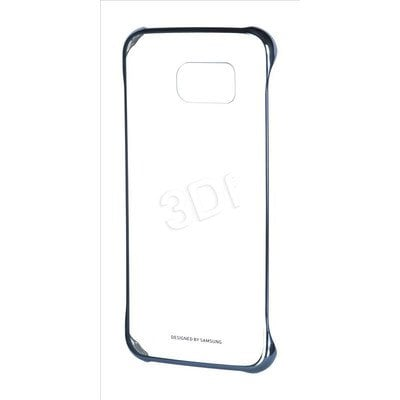 SAMSUNG CLEAR COVER DO S6 CZARNY