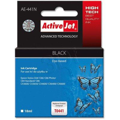 ActiveJet AE-441N (AE-441) tusz czarny pasuje do drukarki Epson (zamiennik T0441)