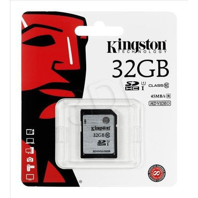 Kingston SDHC SD10VG2/32GB 32GB Class 10,UHS Class U1