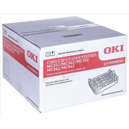 OKI Bęben C301/MC352-EP=44968301=C301dn, C321dn, C331dn, C511dn, C531dn, M352dn, MC362dn, MC562dn, 30000BK/20000CMY str.